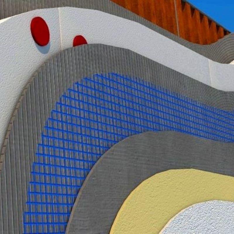Fasadni sustav 5 cm - Bijeli