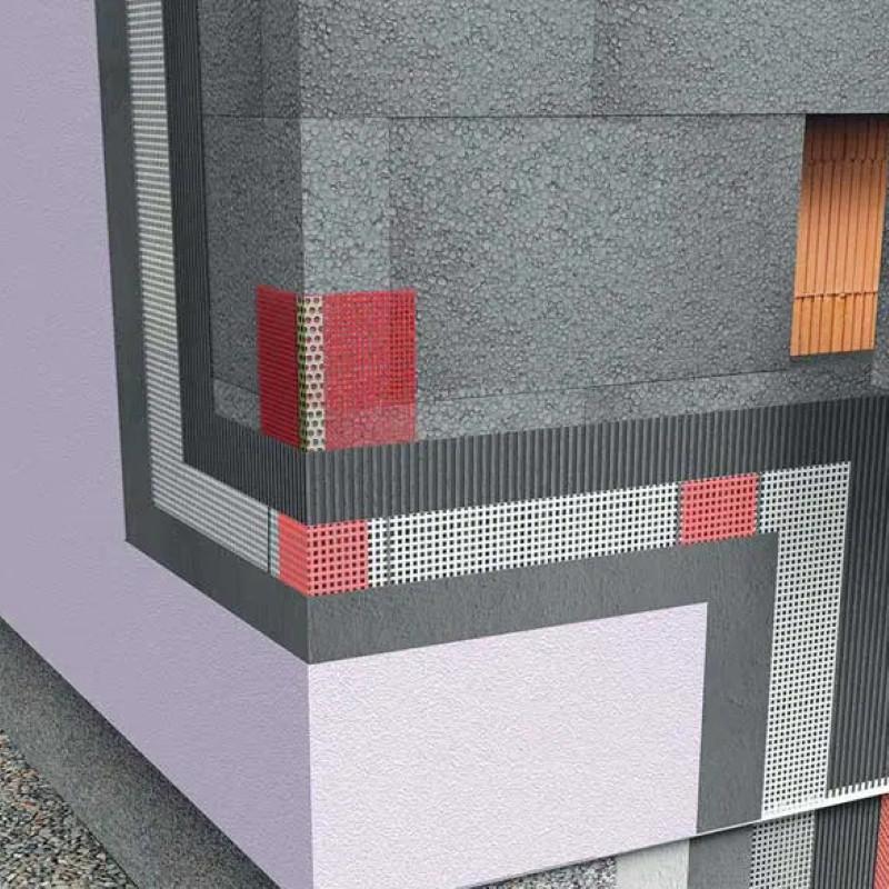Fasadni sustav Grafit 5 cm - Srednji tonovi