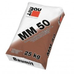 Baumit MM 50 - Mort za zidanje 25 kg