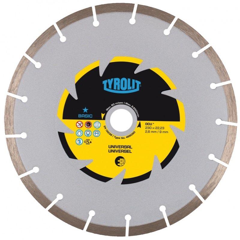 Dijamantna ploča za rezanje 125 mm