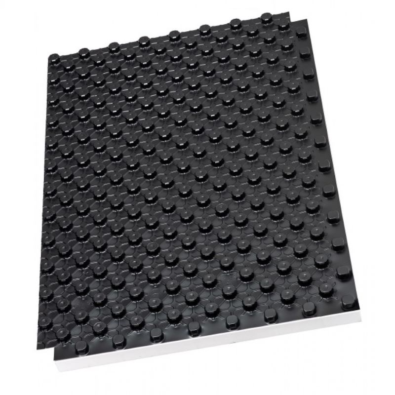 EPS ploče za podno grijanje sa HIPS crnom folijom ( 22 ploča/pak )