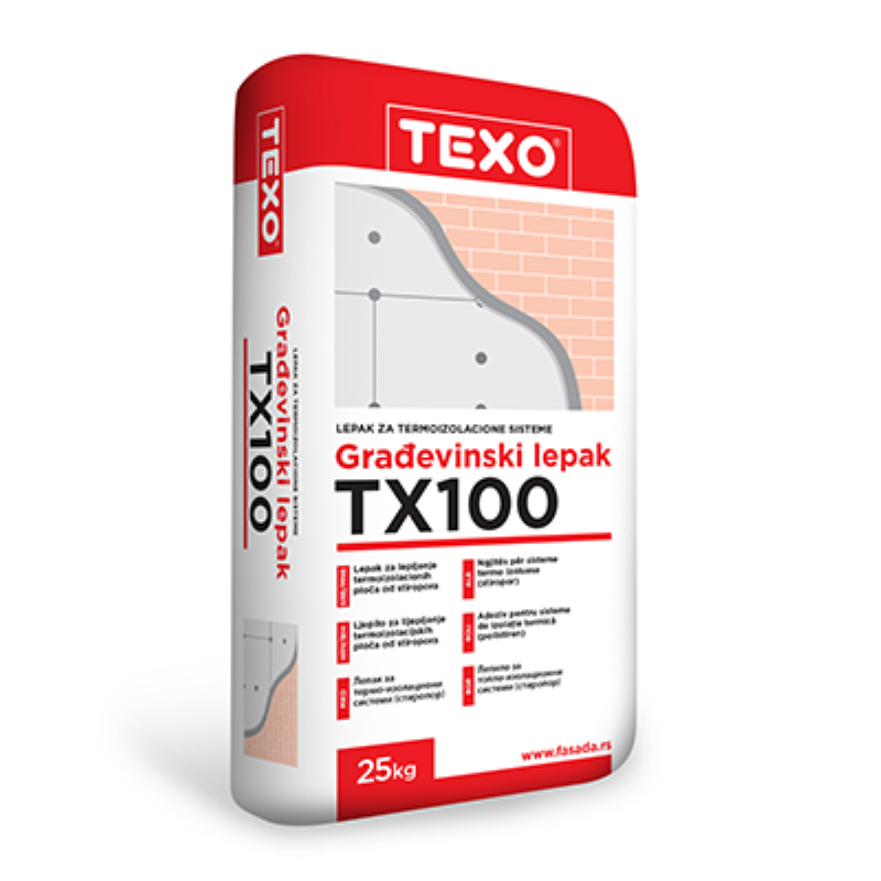 TEXO TX 100 - Ljepilo za stiropor