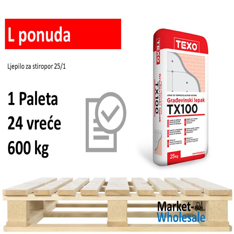 TEXO TX 100 -L - Ljepilo za stiropor