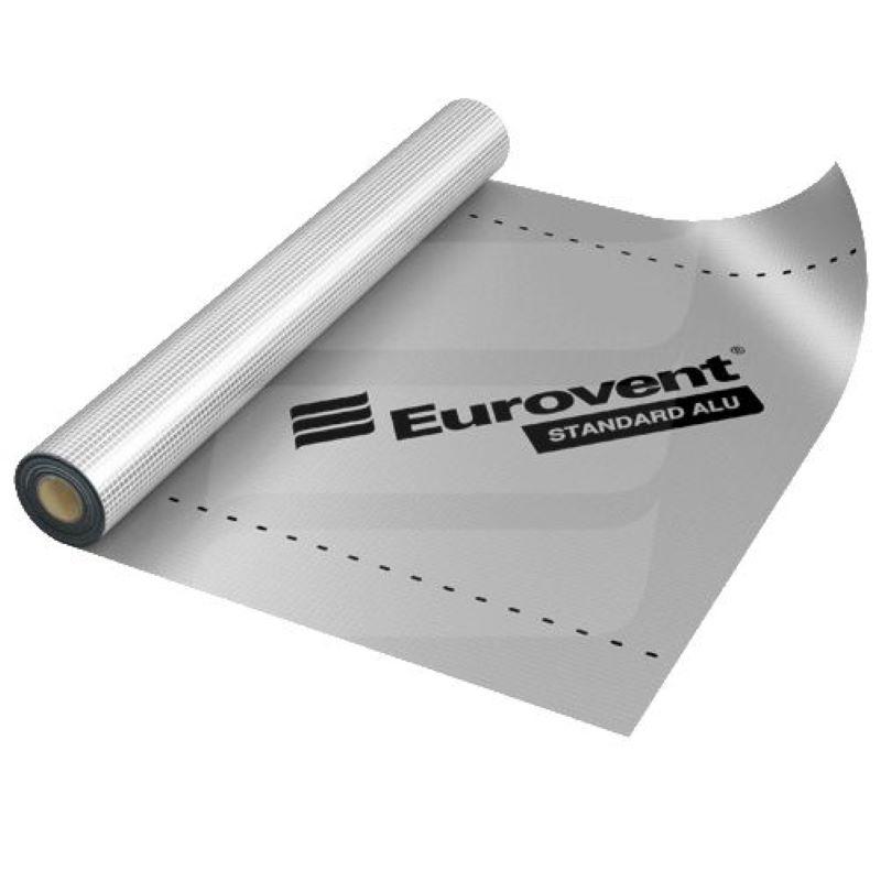 Parna brana s aluminijskim slojem 110 g/m2 - EUROVENT Standard Alu, 75 m2