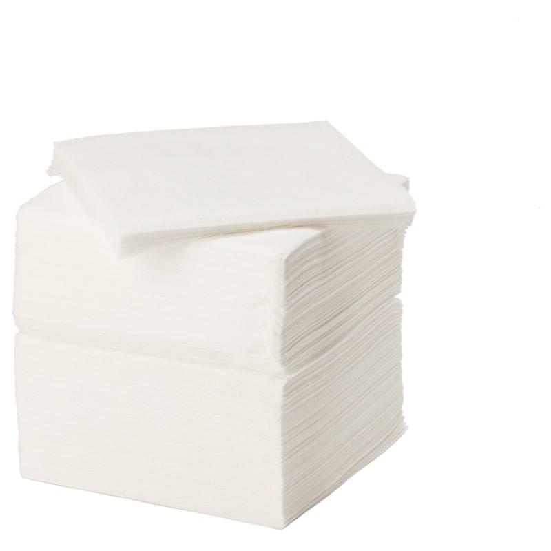 Salvete 33x33/100 - 1 slojne bijele 100kom/pak