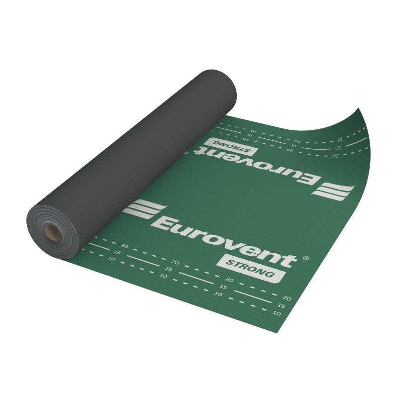 Krovna folija, armirana 160 g/m2 - EUROVENT Strong, 1,5 x 50 m (75 m2)